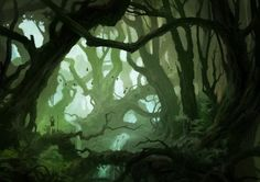 Deep in the Woods by Andreas Rocha