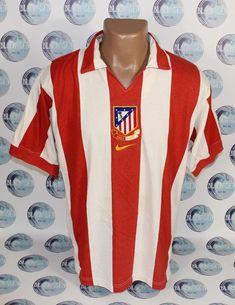 Atletico Madrid 2001 2002 Away. Width (armpit to armpit): 51 cm. Centenario, Black Sea, Football Soccer, Nike, Store, Fashion, Athlete, T Shirts, Moda