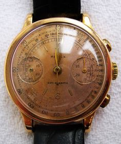 What time is it? This antique Rolex watch will tell you.