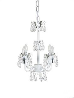 Tadpoles Sleeping Partners 4 Bulb Flower Chandelier White -- You can find out more details at the link of the image.