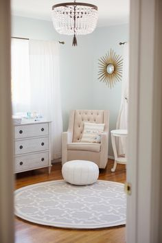 Read More: http://www.stylemepretty.com/living/2014/07/02/traditional-nursery-tour/