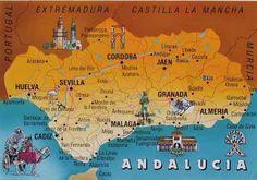 Vacances en Espagne: Vacances en Andalousie dans une vraie région espag...