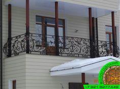 """Кованое ограждение балкона от """"Вологодского кузнечного двора""""  #ковка, #Художественная, #балкон, #кованые, #элементы"""