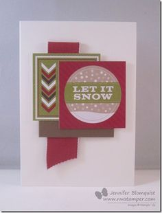 nwstamper.com - One of the 20 cards I created for a class focusing on the Season of Style designer journalling tags.  We are making 20 cards using no stamps and almost all of the tags as our designer paper and sentiments!