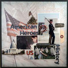 American Heroes  **Paper House** - Scrapbook.com