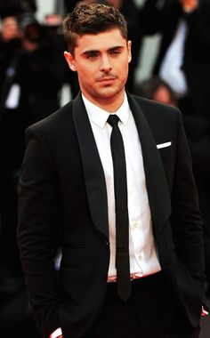 Zac Efron    Could the guy look any sharper? The star attends the premiere of his new flick At Any Price at the Venice Film Festival