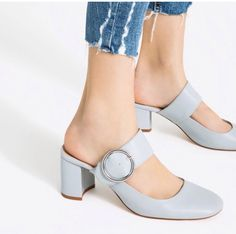 Fashion blue#zarashoes