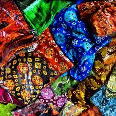 Jumputan Palembang Batik Fashion, Palembang, Shibori, Vera Bradley Backpack, Ikat, Identity, Tie Dye, Traditional, Patterns