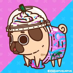 Unicorn Frappugccino ✨ May the memory of its magic (sugar high) giv.fabled Unicorn Frappugccino ✨ May the memory of its magic (sugar high) giv. Art Kawaii, Kawaii Doodles, Cute Doodles, Cute Food Drawings, Cute Animal Drawings Kawaii, Cartoon Drawings, Pug Wallpaper, Cartoon Wallpaper, Cute Dog Drawing