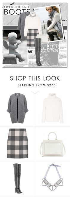 """let it snow, let it snow, let it snow"" by lifestyle-ala-grace ❤ liked on Polyvore featuring Ghost, Theory, Weekend Max Mara, Victoria Beckham and Tamara Mellon"