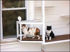 The Cat Terrace Window Cage