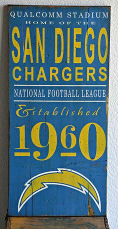 Hey, I found this really awesome Etsy listing at https://www.etsy.com/listing/203726702/san-diego-chargers-bolts-nfl-football