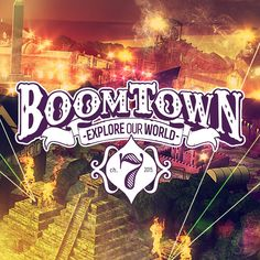 Event: Boomtown Festival 2015 Reveals New Stages Boomtown Festival, Festival Chic, Polo Club, Typography Logo, Logos, Happy People, Trees To Plant, Pop Tarts, Dj