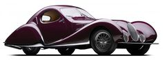 Now isn't that a fantastic automobile?? 1938 Talbot-Lago T150C SS.   From Hemmings Motor News.