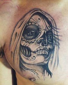 santa catrina tattoo