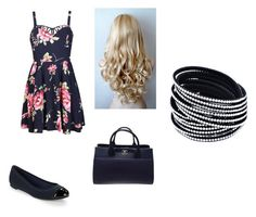 """""""12"""" by bearoo1 on Polyvore featuring Ally Fashion, Jack Rogers, Capelli New York and Chanel"""