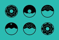 Download these cute doughnut icons and more! - https://www.iconfinder.com/lsedesigns