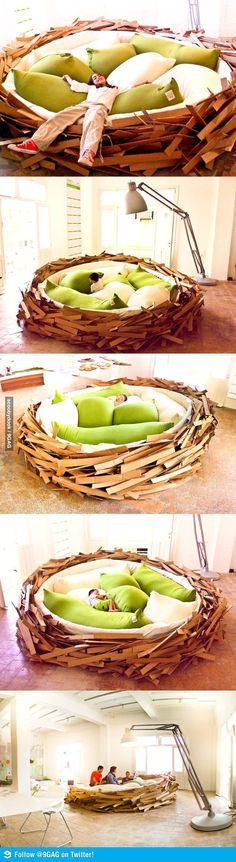 Vogelnest Gras selber machen Anleitung Ideen spring Pinterest - dekoration küche selber machen