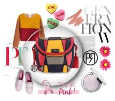 """""""Pretty Patch"""" by phiveriversuk ❤ liked on Polyvore featuring Guerlain, Keds and Philosophy di Lorenzo Serafini"""