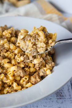 A classic comfort food made keto. Cheeseburger Macaroni made with low carb elbow macaroni pasta from Great Low Carb Bread Company.