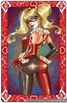 Gotham's Sirens call: Harley Quinn by Penelope Gaylord