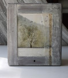 erin's art and gardens: encaustic art - ~tender memories floating forever amidst ethereal layers of bees wax~
