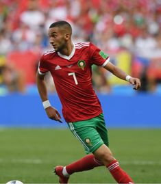 20180620 Portugal 1-0 Morocco - Hakim Ziyech (Photo Credit : Stu Forster/Getty Images)