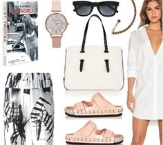 Casual weekend summer style.