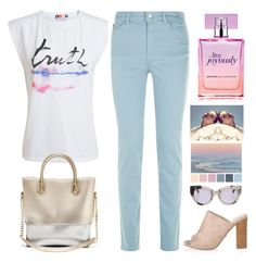 """""""Day By Day"""" by hiddensoulmemories ❤ liked on Polyvore featuring MSGM, Armani Jeans, Kartell, philosophy and MaxMara"""