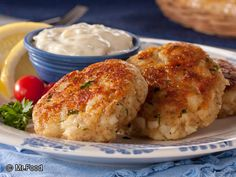 All-American Fish Cakes - Serve 'em up for an appetizer, lunch, or dinner. These homemade fish cakes are fried favorites!