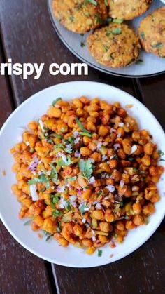 crispy corn recipe, crispy fried corn, crispy corn kernels with step by step photo/video. interesting fried snack with corn kernels & indo chinese sauces. Veg Recipes, Spicy Recipes, Vegetarian Recipes, Cooking Recipes, Healthy Recipes, Easy Vegetarian Appetizers, Recipes With Corn, Fried Corn Recipes, Jain Recipes