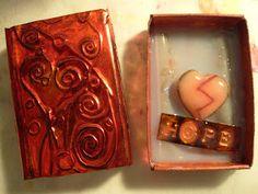 Brokn Heart Art: Matchbox Art tells you how it was made