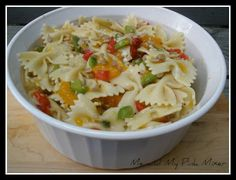 Fresh Market Recipe for Orange Zest Bowtie Honey Lemon Pasta Salad