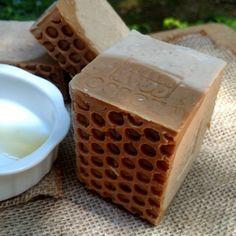 Amazon.com : Goat's Milk Soap with (Honey Golden Blossom) 14 Oz Bar-- Natural Farm Fresh Milk : Bath Soaps : Beauty