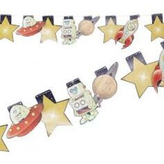 Space Adventure Party Bunting : The Party Cupboard | The Party Cupboard