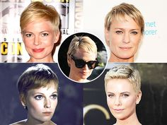 Pamela Anderson's Pixie Puts Her In the Best Blonde Chops of All Time Club. Who Does She Most Resemble? | People.com