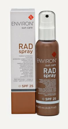 PoshFashion: ΝΕΟ αντηλιακό RAD Spray SPF25 της Environ®