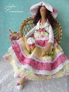 Купить Мечты сбываются Кукла тильда - тильда, кукла Тильда, авторская кукла, ангел тильда ♡
