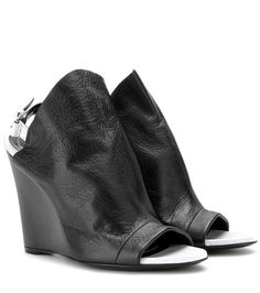 Balenciaga Glove Leather Wedges For Spring-Summer 2017