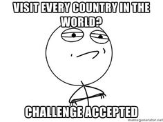 Are you accepting the challenge? #travel #meme