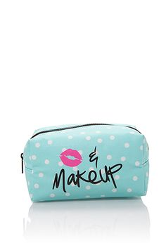 Kiss & Makeup Pouch | FOREVER21 - 1000100899