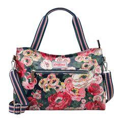 Worth Bunch Zipped Handbag with Detachable Strap   Cath Kidston  