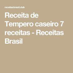 Receita de Tempero caseiro 7 receitas - Receitas Brasil