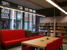 Nieuw meubilair. @Bibliotheek Enschede