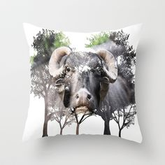 Protect ME! Throw Pillow by Four Hands Art - $20.00