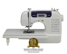 Brother Sewing and Quilting Machine 60 Built-In Stitches 7 styles of Auto-Size Buttonholes Wide Table Hard Cover LCD Display and Auto Needle Threader Price Sewing Basics, Sewing For Beginners, Sewing Hacks, Sewing Tutorials, Sewing Projects, Sewing Ideas, Basic Sewing, Sewing Tips, Craft Tutorials