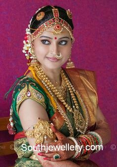 Indian Jewellery Designs - Latest Indian Jewellery Designs 2020 ~ 22 Carat Gold Jewellery one gram gold Indian Wedding Bride, Indian Wedding Jewelry, South Indian Bride, Indian Jewelry, Indian Jewellery Design, Jewelry Design, Gold Jewellery, Kerala Jewellery, Nice Jewelry