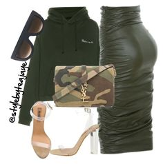 Untitled #2503 by stylebyteajaye on Polyvore featuring polyvore fashion style Vetements YEEZY Season 2 adidas Originals Yves Saint Laurent CÉLINE Kori clothing