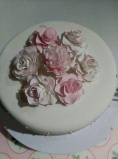 Flores en pasta de flores.
