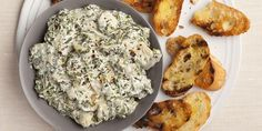 Alton Brown's Hot Spinach and Artichoke Dip